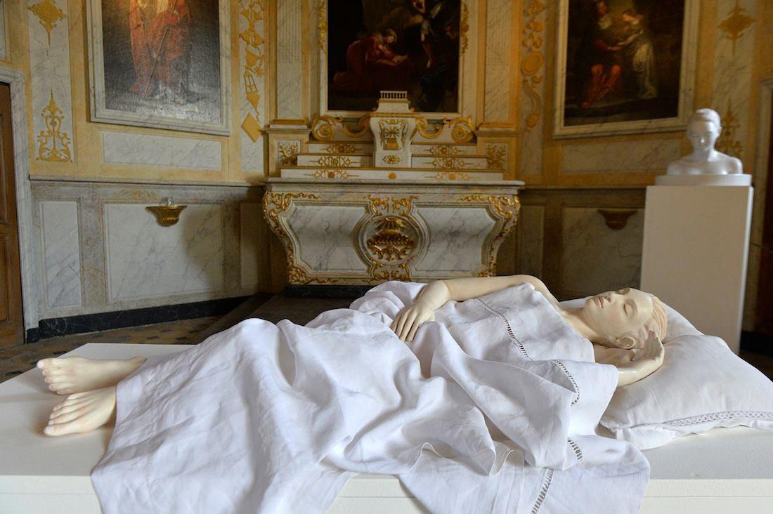 Exposition Serena Carone à l'Église de Saint-Aubin-des-Grois ©Olivier Steigel
