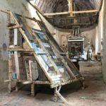 Oeuvre monumentale de Téo Betin à l'Église Notre-Dame de Courthioust ©Martine Camillieri