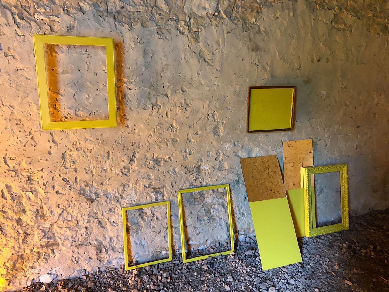 Installation Euridice Kala à l'Hotel Bouillerie ©Euridice Kala