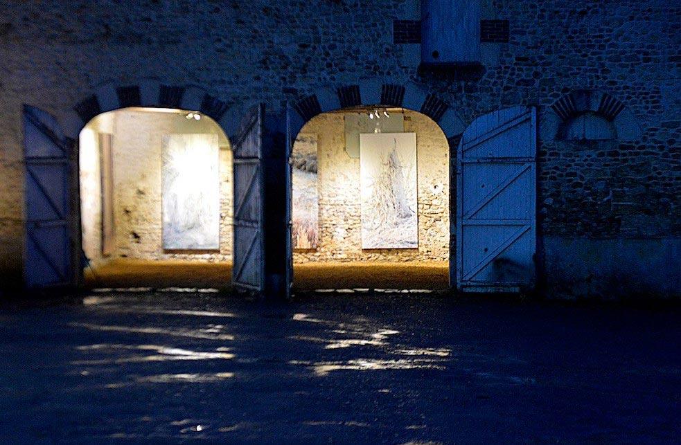 Exposition Éric Mezan au Moulin Blanchard ©Olivier Steigel
