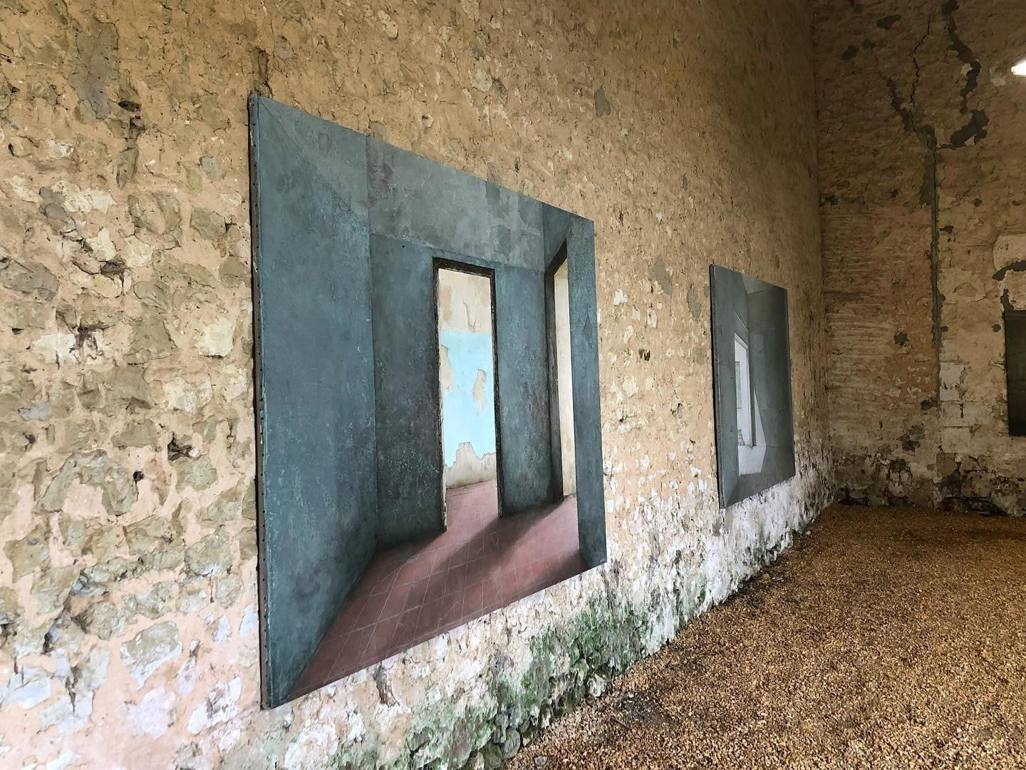 Exposition Ashley Ashford-Brown au Moulin Blanchard ©Martine Camillieri