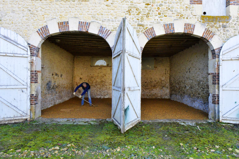 Bénévoles au Moulin Blanchard © Olivier Steigel