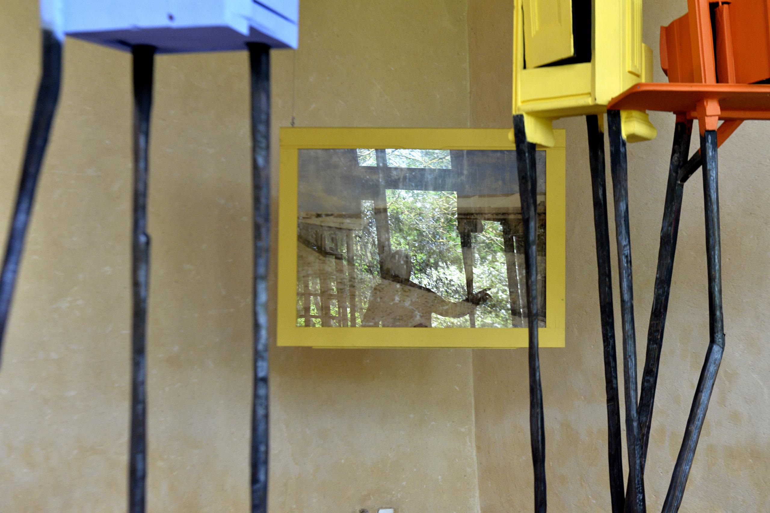 Exposition Téo Betin au Manoir de Lormarin ©Olivier Steigel