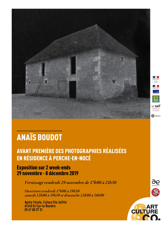 Exposition Avant-Première Anais Boudot
