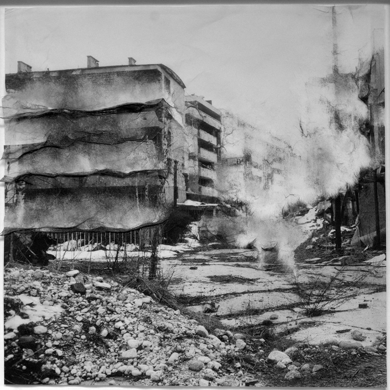 Lisa Sartorio, sans titre 34, guerre de Yougoslavie, série Ici ou ailleurs, 2018, courtesy Galerie Binome